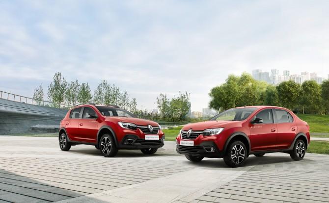 Renault представила внедорожные версии Sandero, Logan и Dokker