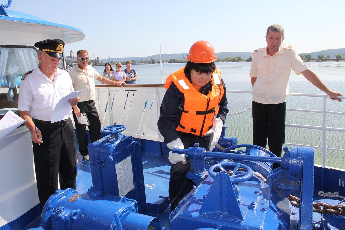 В Тольятти назвали лучшего матроса речного флота России