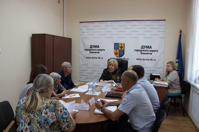 В тольяттинской Думе продолжается прием Ольги Гальцовой
