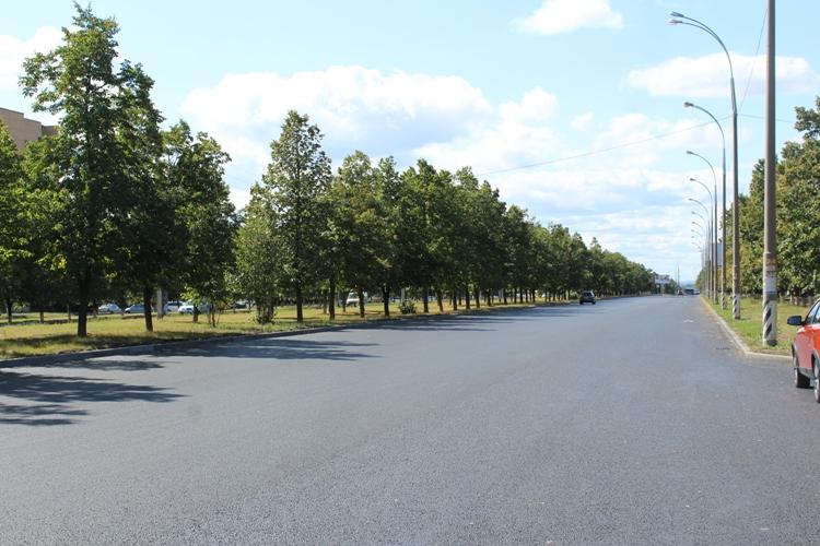 Ленинский проспект в Тольятти отремонтирован на 70 %