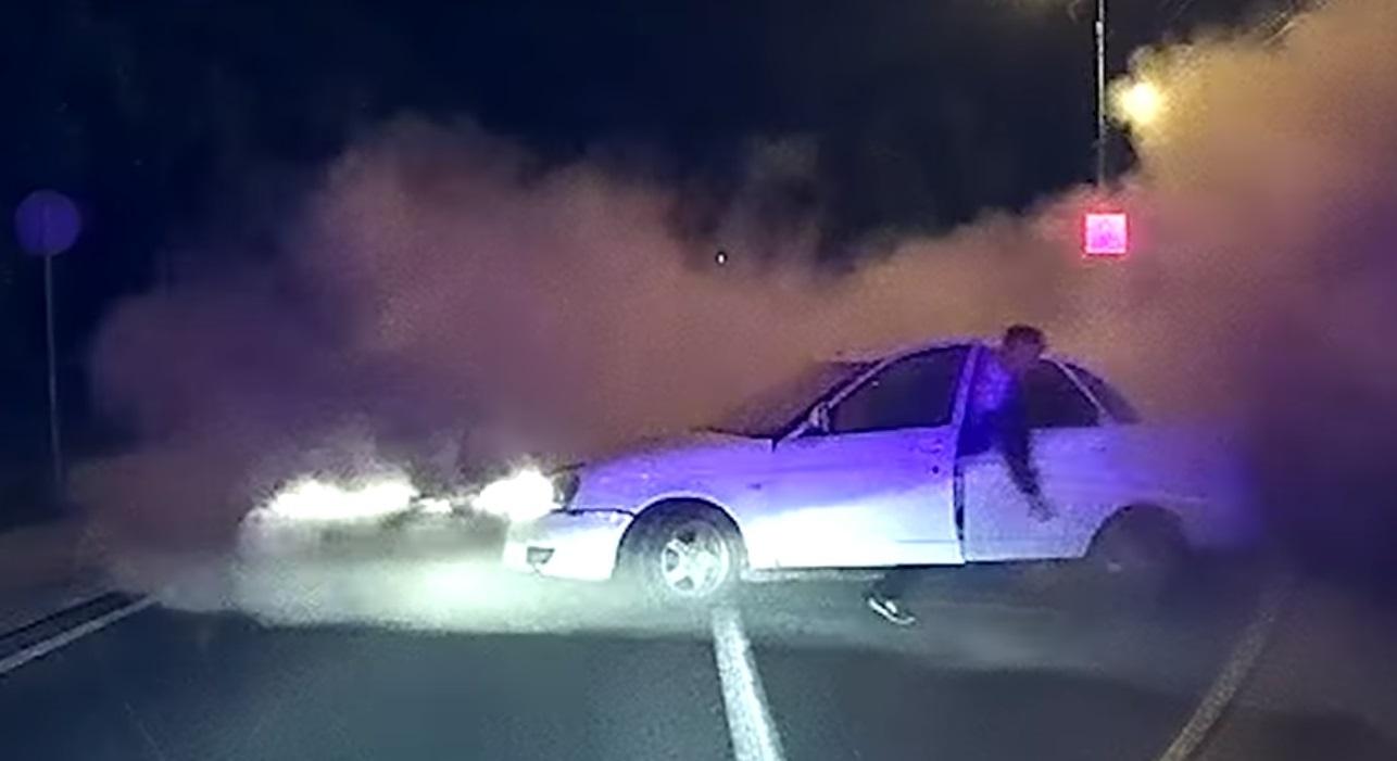 Пьяница-водитель пытался скрыться от ГИБДД, создавая аварийные ситуации