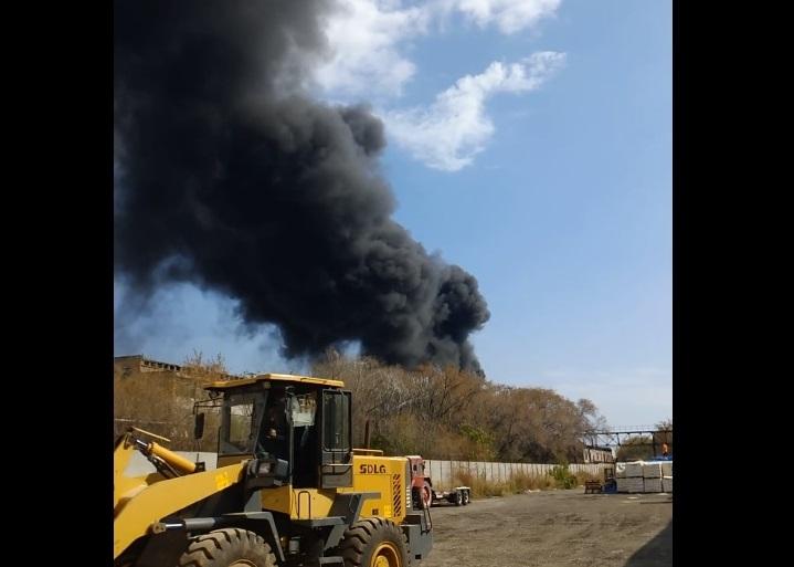 На заводе в Тольятти произошел пожар. Погибли два человека