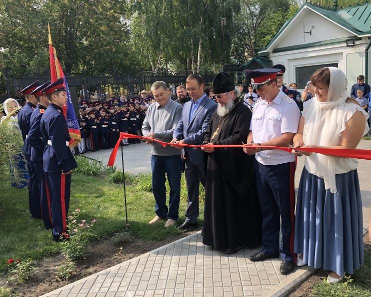 Председатель Думы Тольятти принял участие в церемонии открытия памятника подполковнику Диомидию