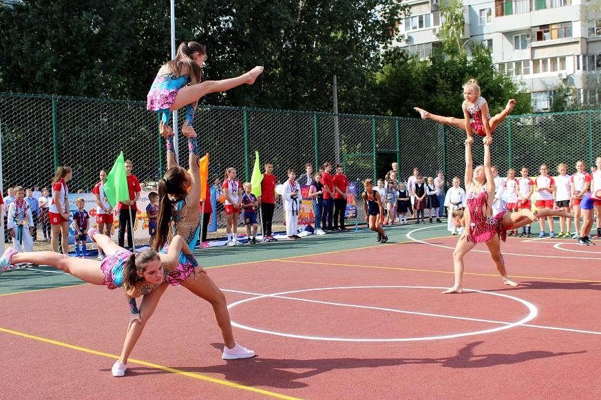 В Тольятти стартовала череда открытий спортплощадок