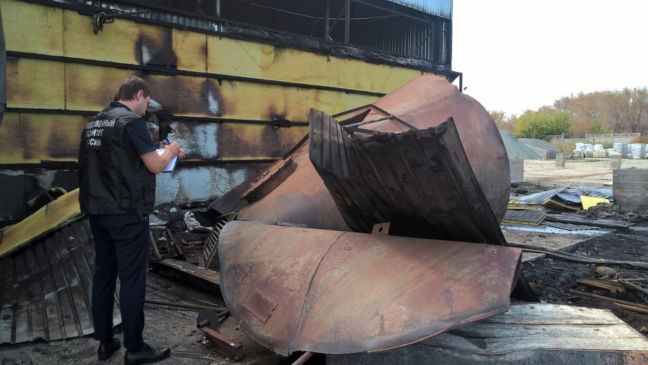 Следователи проводят проверку по факту происшествия на заводе в Тольятти