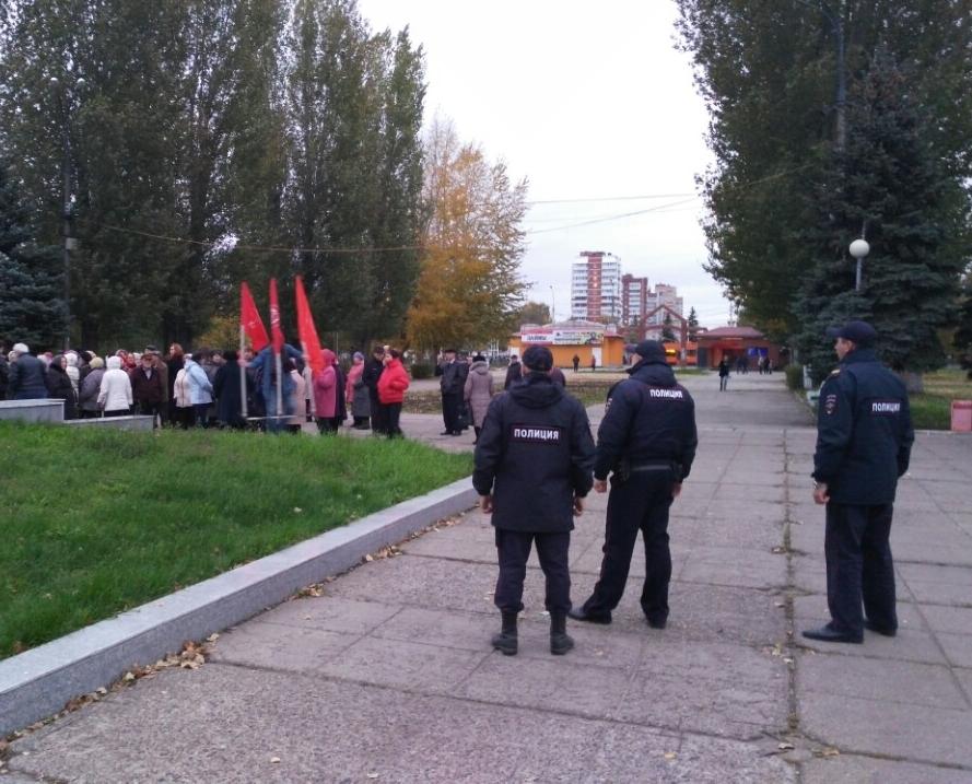 5 тольяттинцев оштрафовали за участие в несанкционированных митингах
