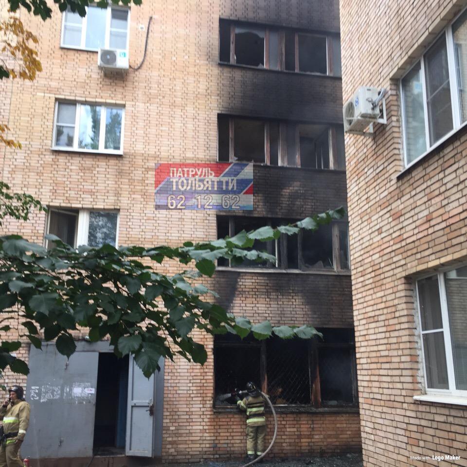 Понадобилась эвакуация: Утром пожарные тушили подсобное помещение на Юбилейной