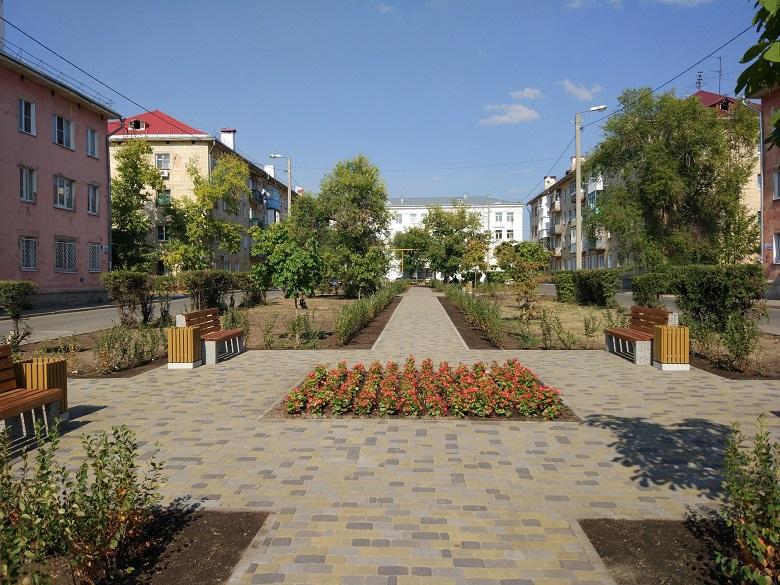 В Тольятти прошли торжественные открытия новых скверов