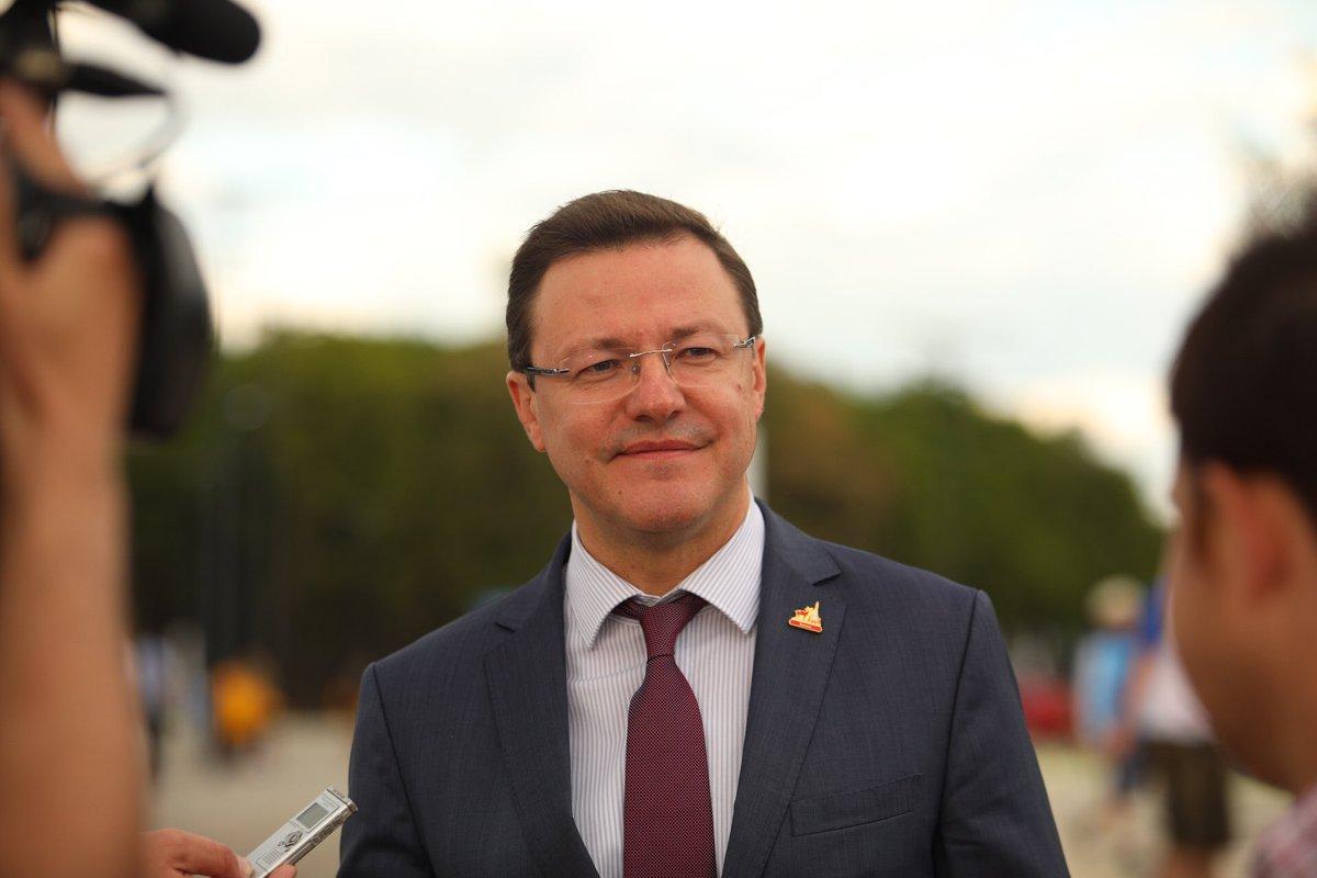 Дмитрий Азаров поздравил земляков с Днем Самарской губернии