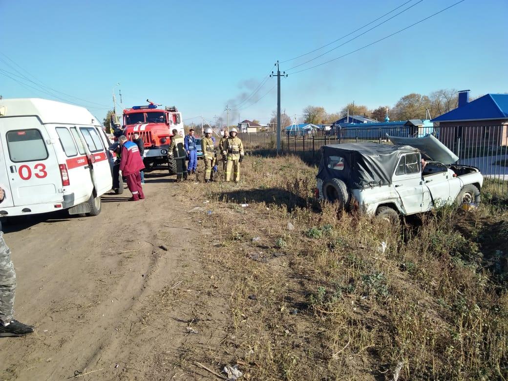 Погиб водитель УАЗа, попавшего под грузовик в селе у Тольятти