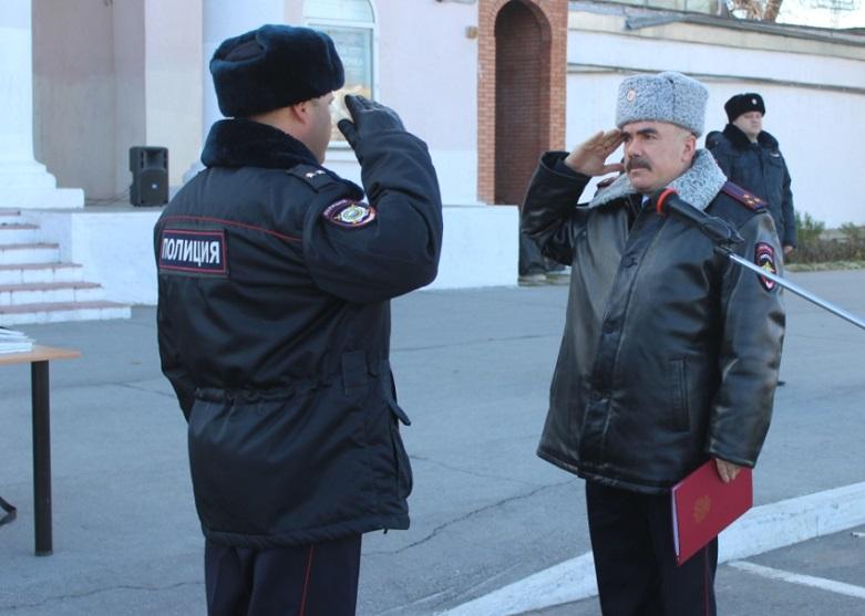 В Тольятти прошел строевой смотр личного состава комплексных сил полиции