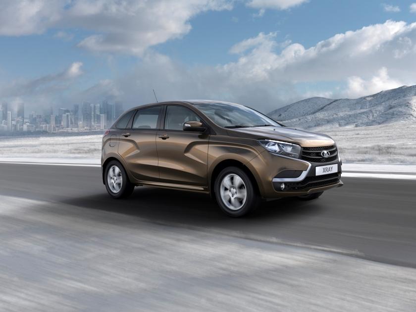 «АвтоВАЗ» снизил цены наодну измоделей Лада Xray