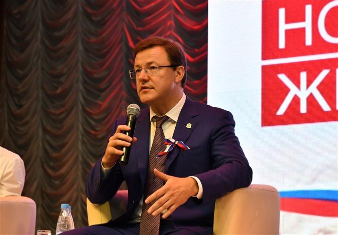Сегодня состоится пресс-конференция губернатора Самарской области