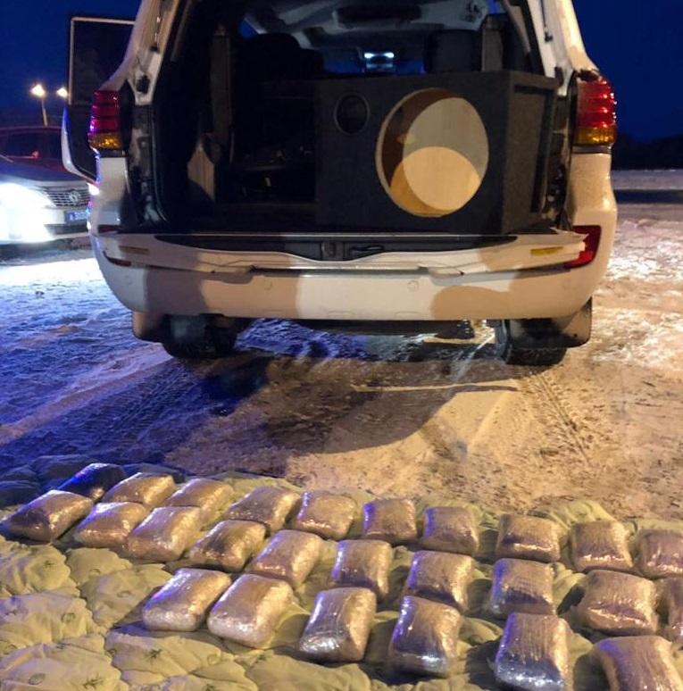 ФСБ поймала в Самарской области члена транснациональной банды с 25 кг героина