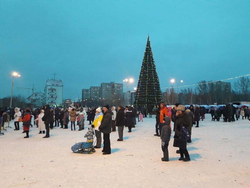 В новогодних торжествах в регионе уже поучаствовали 60 тысяч человек