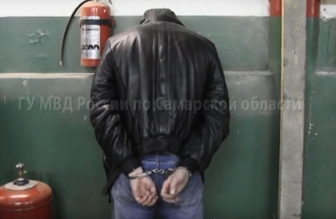 Полиция показала захват особо крупного наркоторговца в Тольятти
