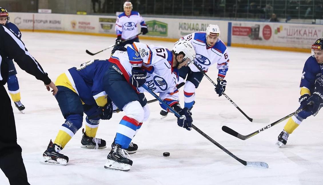 Хоккейная «Лада» прервала серию поражений