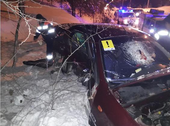 В Тольятти неопытный водитель устроил аварию с пострадавшими