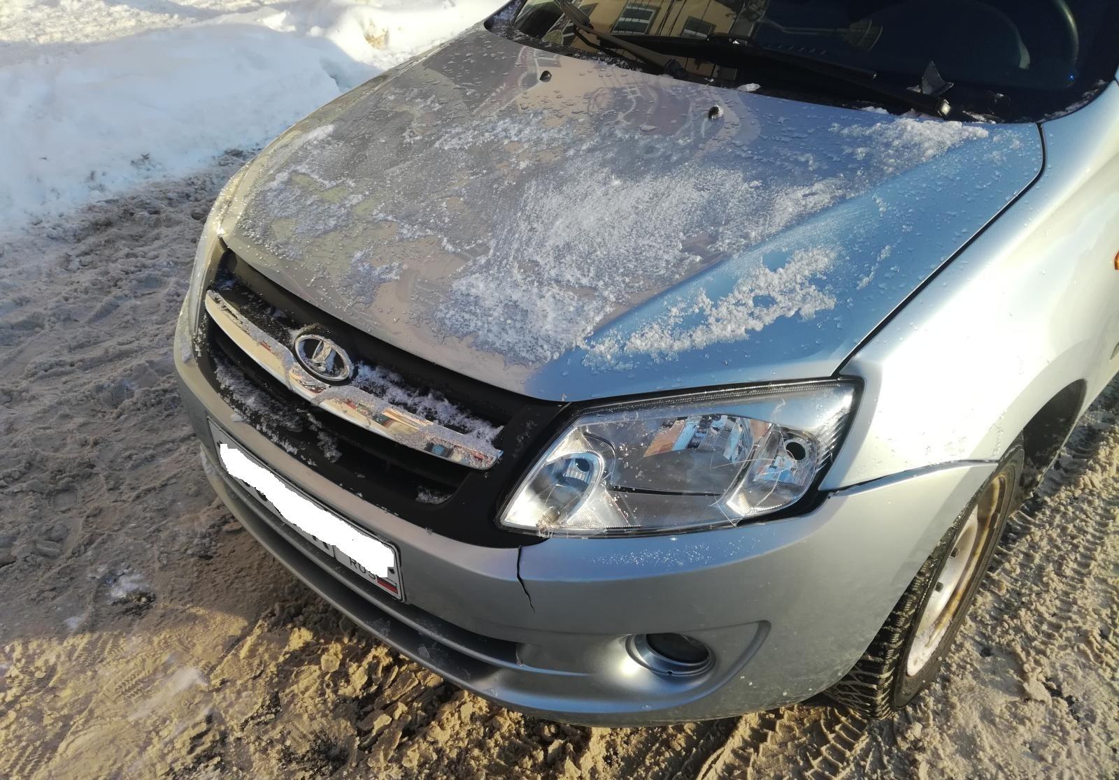 14-летний тольяттинец нарушил правила и попал под машину