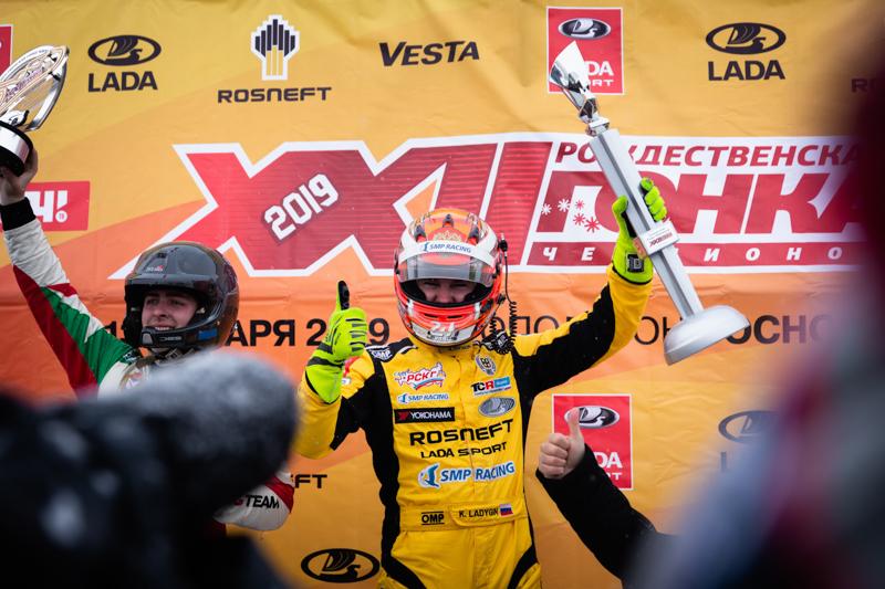 XXII Гонка Чемпионов закончилась триумфом Кирилла Ладыгина