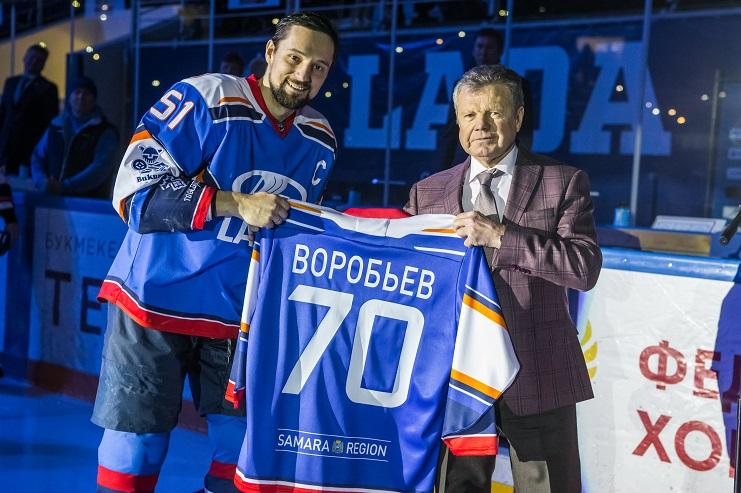 «Лада» обыграла лидера и устроила чествование Петра Воробьева