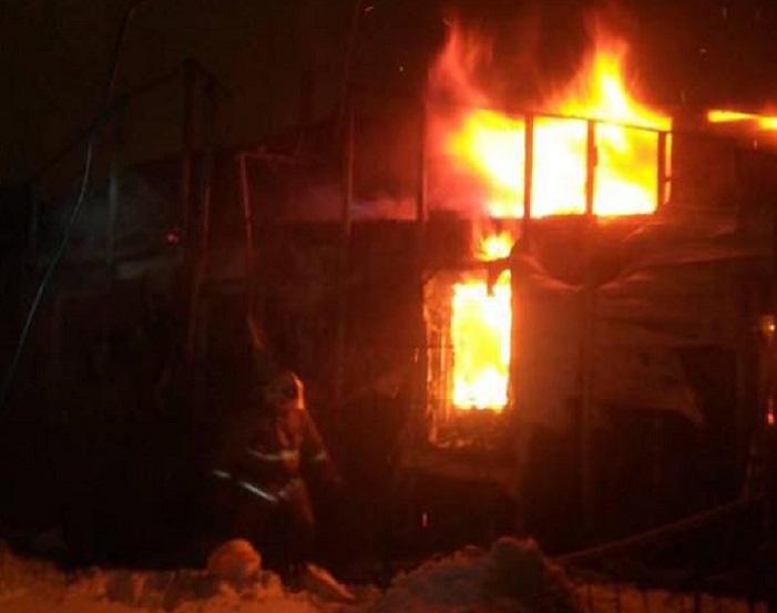 В Тольятти в дачном доме сгорел мужчина