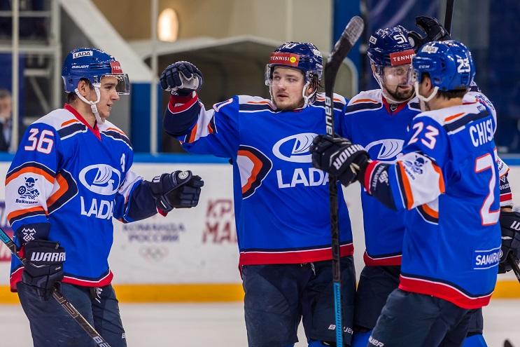 Хоккейная «Лада» вышла в плей-офф ВХЛ!