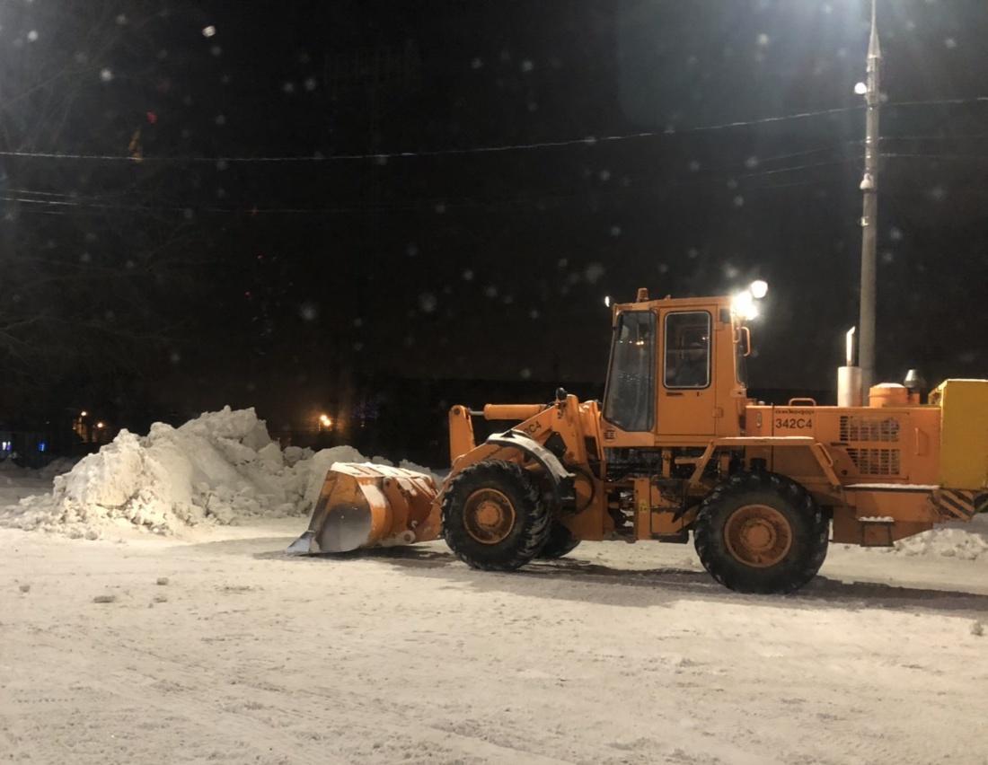 Внимание! В Тольятти ожидается сильный продолжительный снег