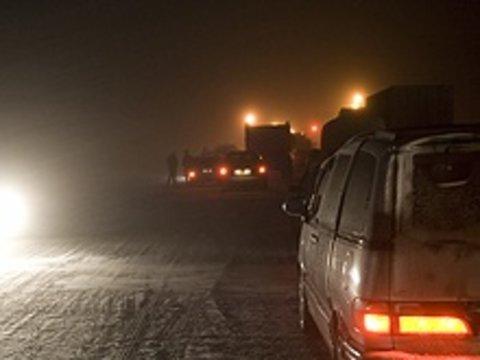 На трассе М-5 под Тольятти открыто движение для грузовиков