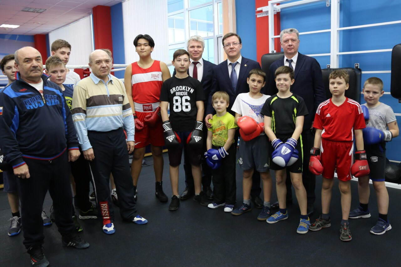 Павел Колобков и Дмитрий Азаров обсудили вопросы развития спорта в регионе