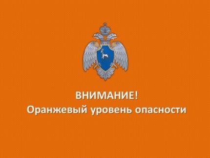 Внимание! В Самарской области объявлен «Оранжевый уровень опасности»