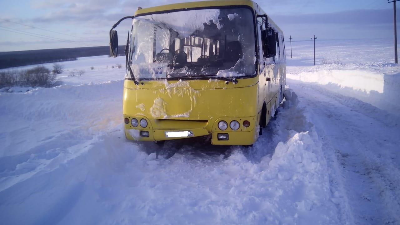 В ГИБДД рассказали подробности спасения людей из снежного плена под Тольятти