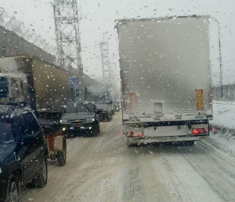 Внимание! Под Тольятти закрыт для движения участок трассы М-5