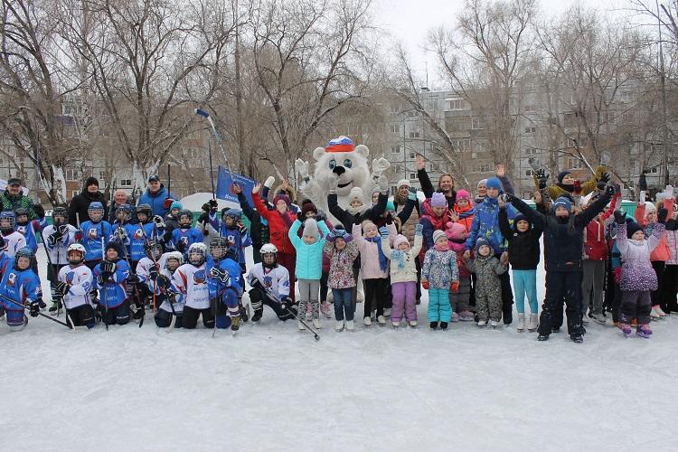 В Тольятти стартовала череда дворовых праздников на льду