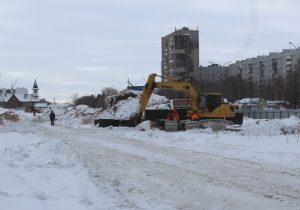 Власти рассказали о строительстве сквера на Революционной