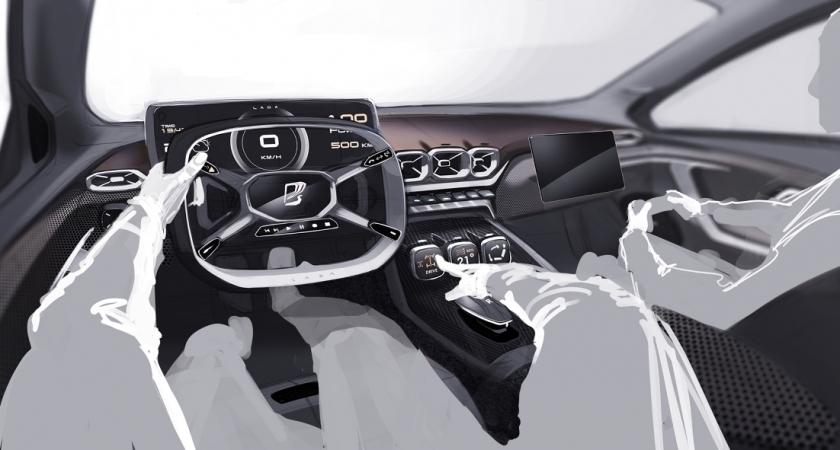 Москвичи представили свое видение нового автомобиля LADA