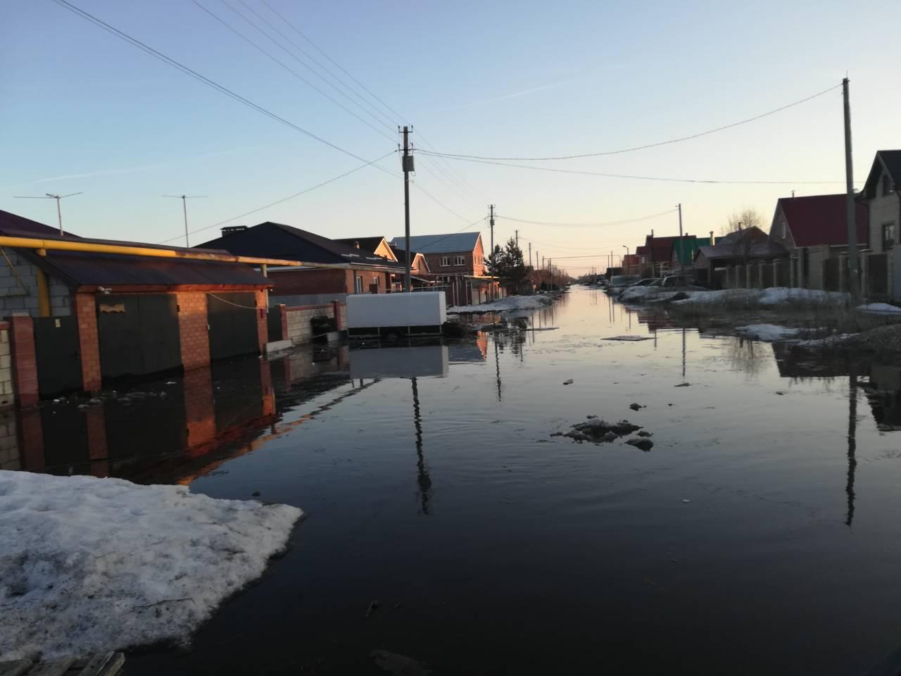 Тимофеевку спасут от потопа: Под Тольятти нерадивые коммерсанты засыпали земли снегом