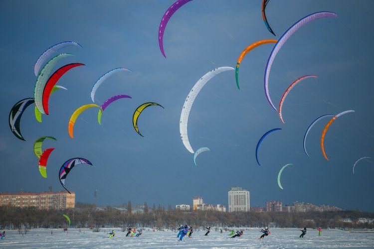 Выходные в Тольятти: паруса над Волгой и снежные человечки