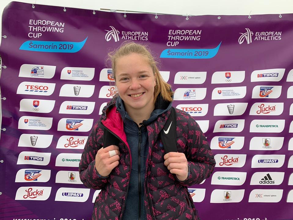 Тольяттинка Софья Палкина выиграла Кубок Европы по метаниям!