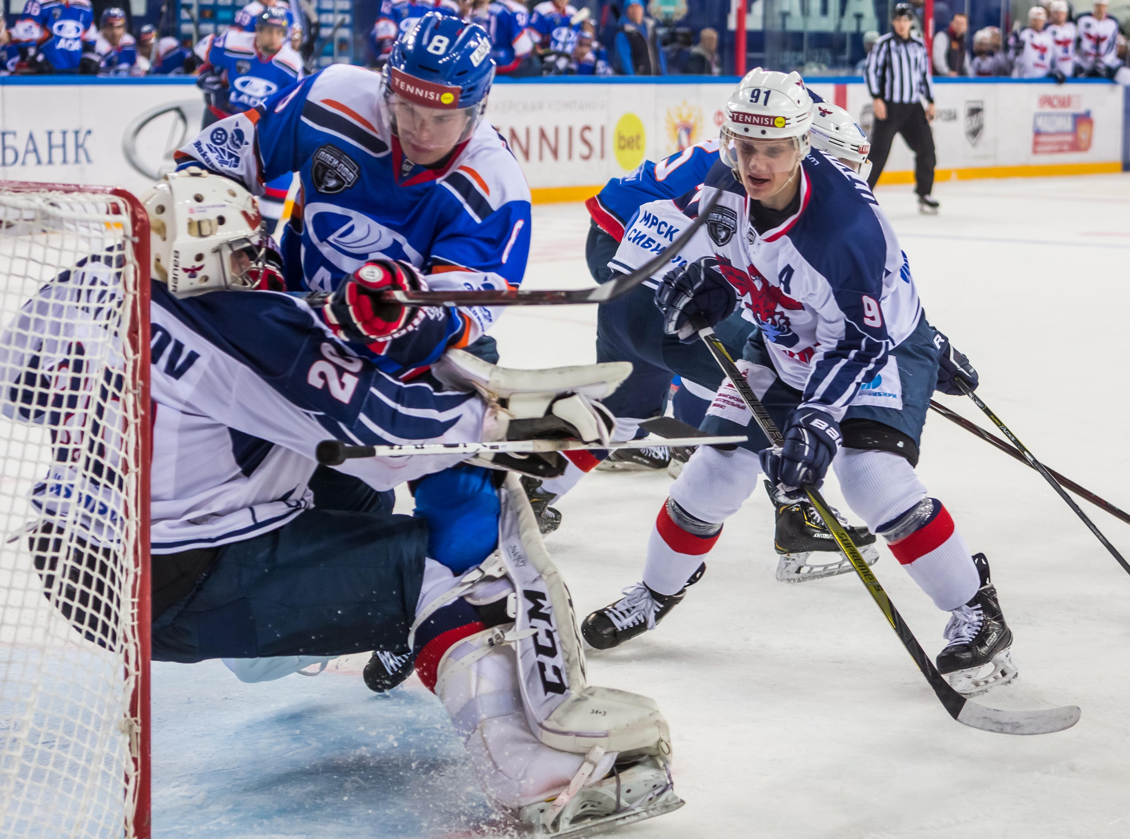 «Лада» выиграла стартовый матч плей-офф ВХЛ