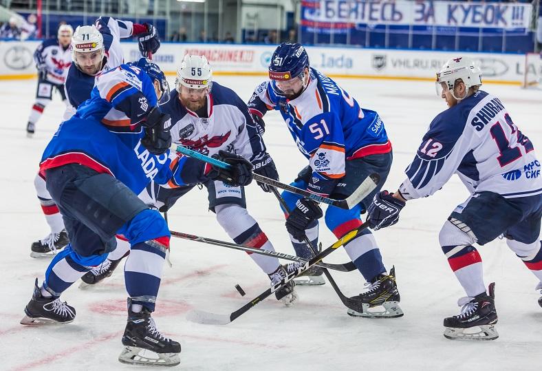 «Лада» проиграла «Соколу» во втором матче плей-офф
