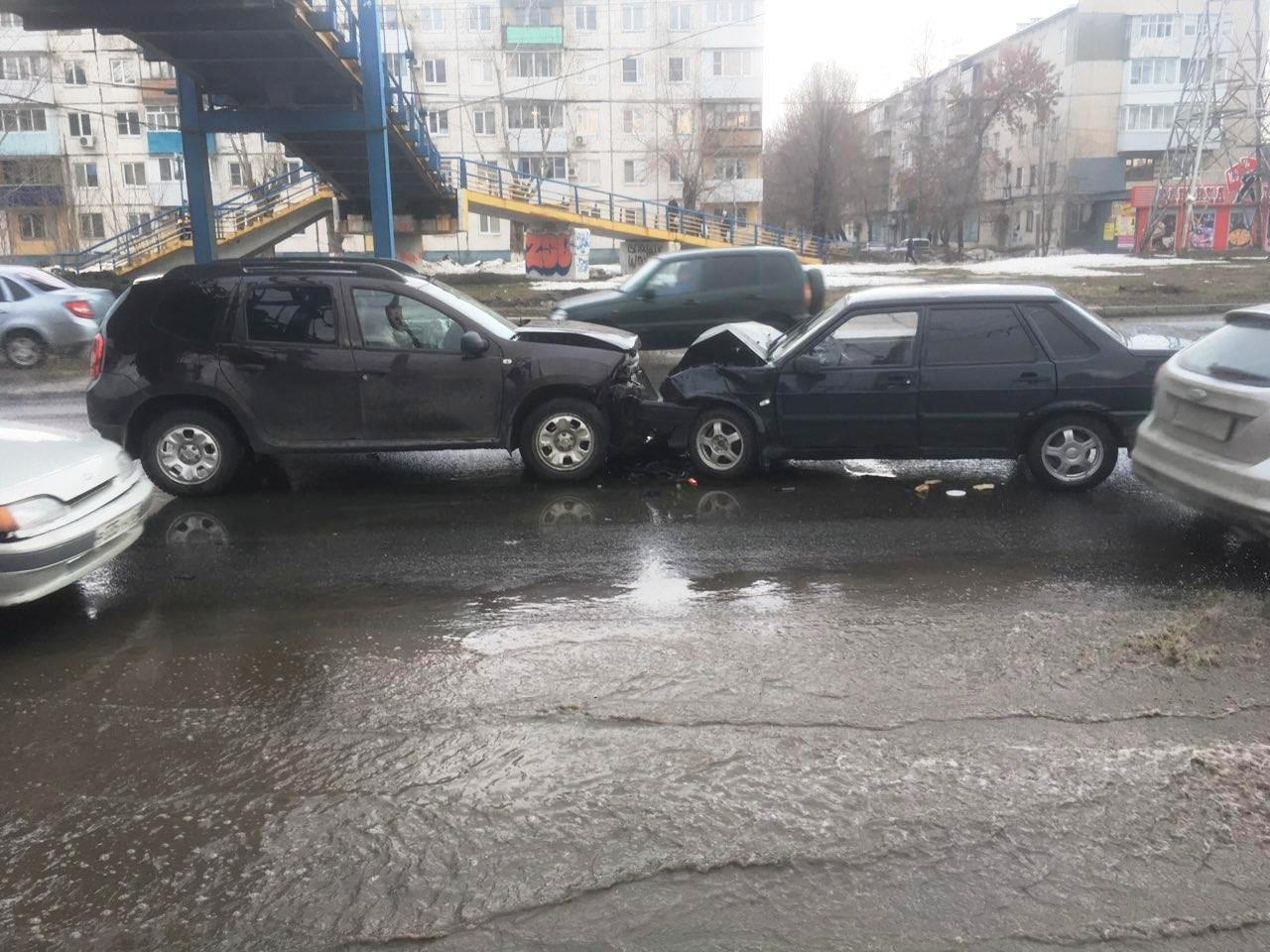 Пьяный тольяттинец устроил аварию на одной из главных улиц города