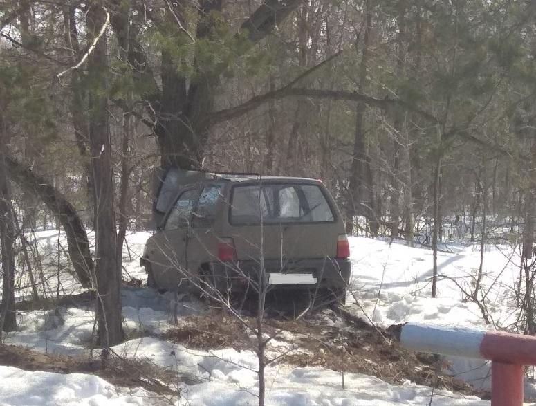 В Тольятти пьяный водитель на «Оке» врезался в дерево