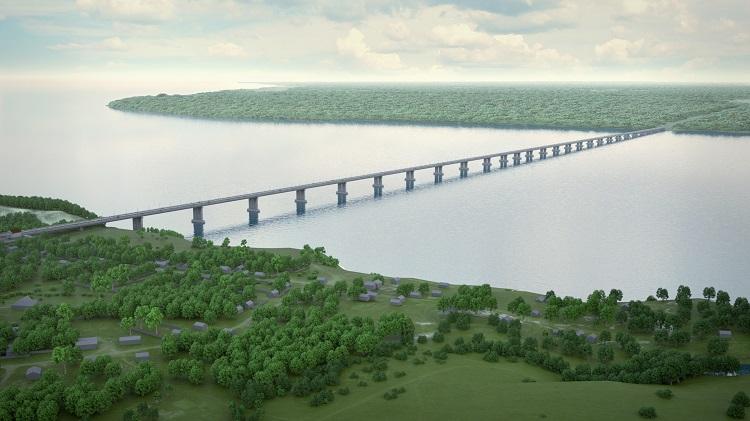 Выдержали конкуренцию: На новый мост Самарская область получила 30 млрд рублей