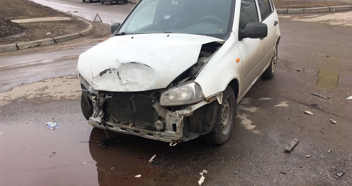 Женщина получила травмы в аварии на бульваре Здоровья в Тольятти