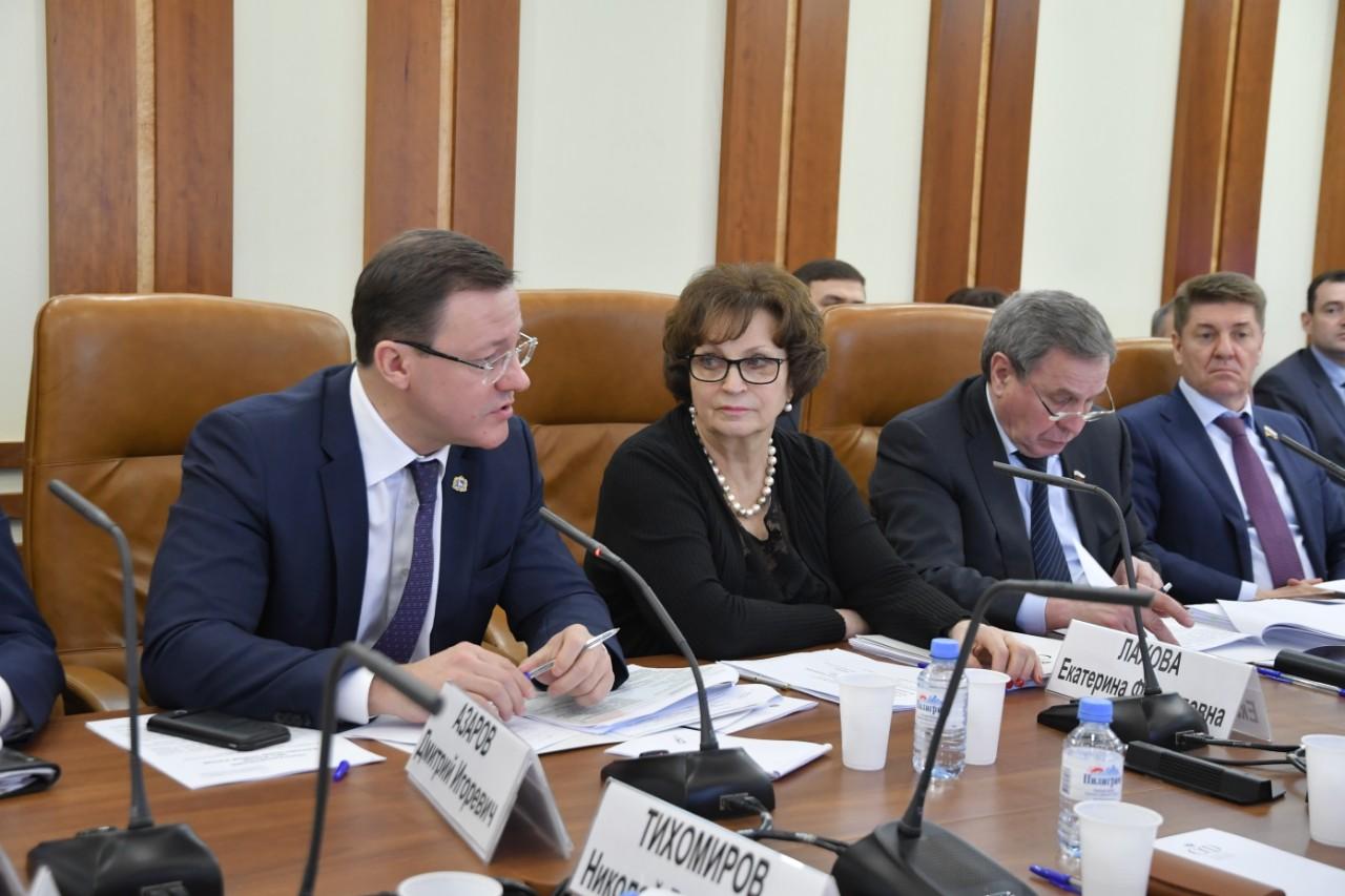 В Совете Федерации обсудили развитие строительного сектора Самарской области