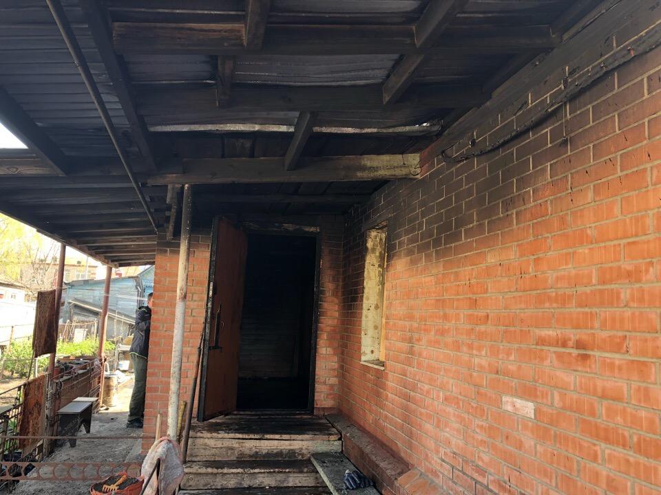 В Тольятти пожар в доме на проезде Пожарского унес жизнь человека