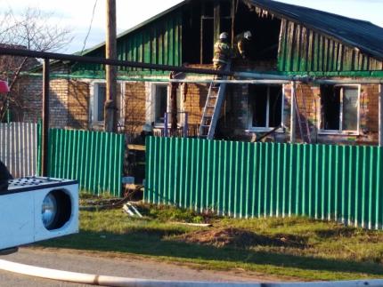 В Самарской области пожар в частном доме унес жизни двух людей