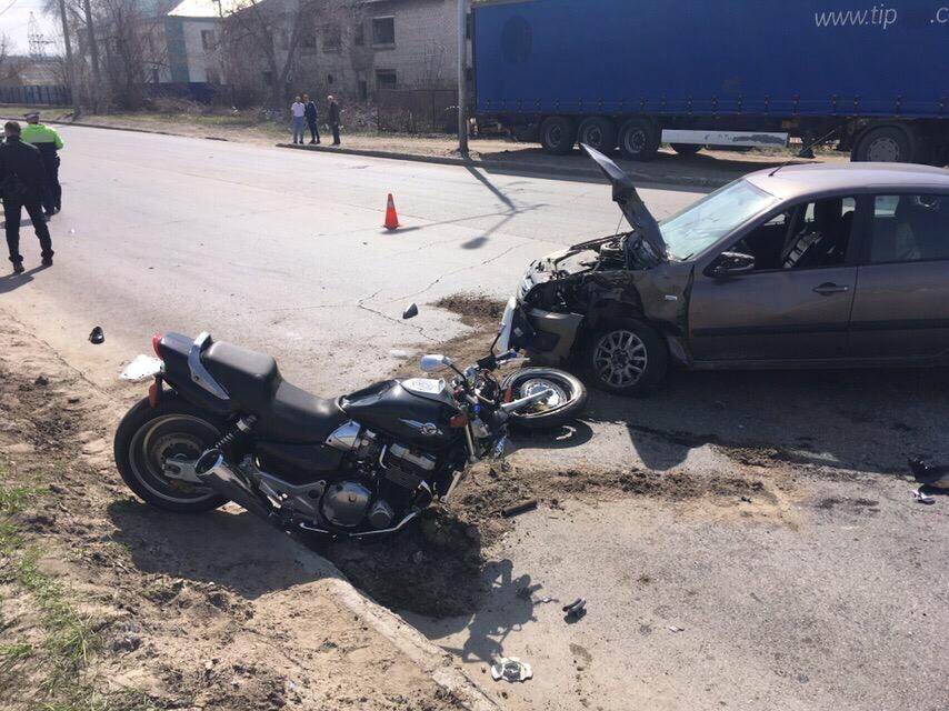 Очевидцы сообщили о гибели мотоциклиста в Тольятти