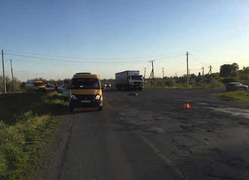На трассе под Тольятти маршрутка насмерть сбила пешехода